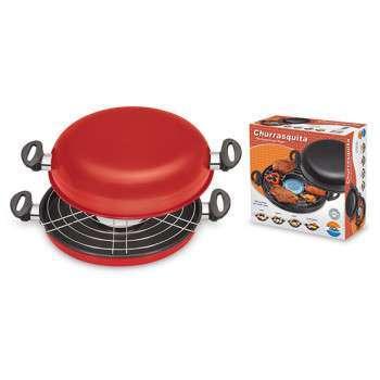 Churrasqueira de fogão - Churrasquita Vermelha